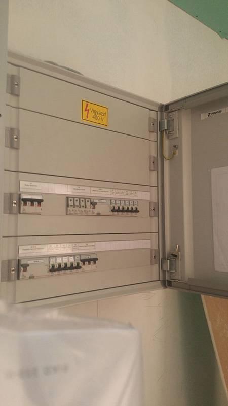Miskolc SPAR áruház elektromos kivitelezése