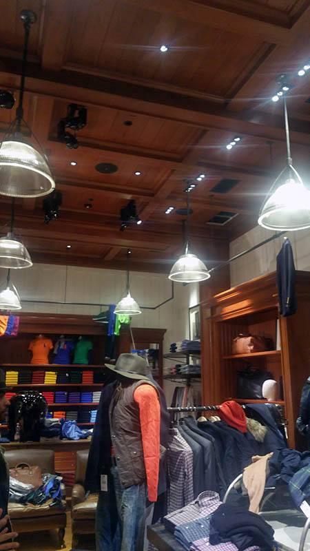 Budapest Ralph Lauren üzlet elektromos kivitelezése