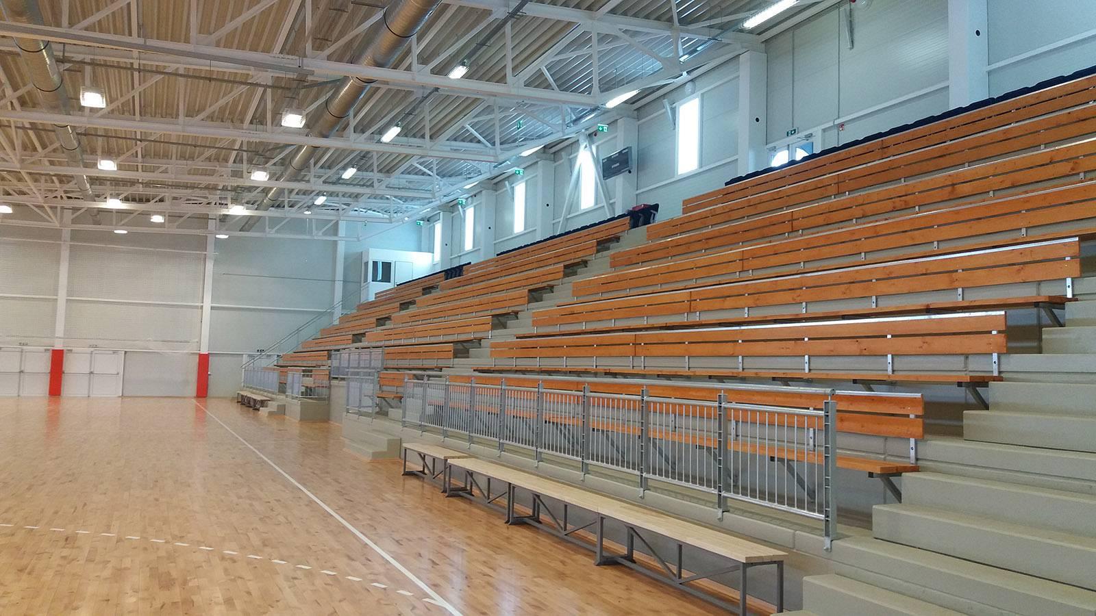 Mórahalom - Sportcsarnok elektromos kivitelezése